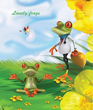 "Т. 12 л. кл.""Lovely frogs"" арт. ТШ12К9450/6"