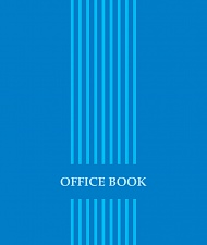 "Блокнот 80 л. ф. А4 ""Office book"" гребень арт. Б80А4М057/6"